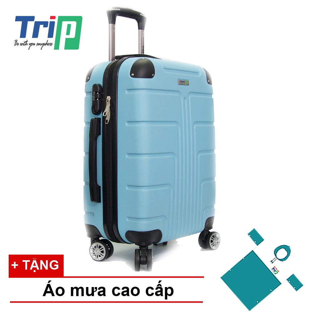 Mã Khuyến Mại Vali Trip P701 Size 60Cm 24Inch Xanh Ngọc Trip Mới Nhất