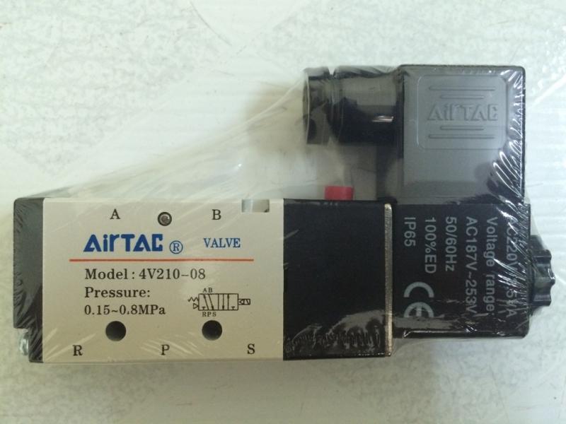 Van điện từ Airtac 4V210-08 220V