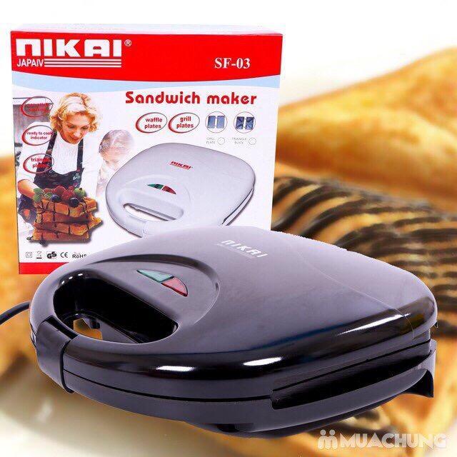 Hình ảnh Máy nướng bánh Mini Nikai DSA753 GDA452