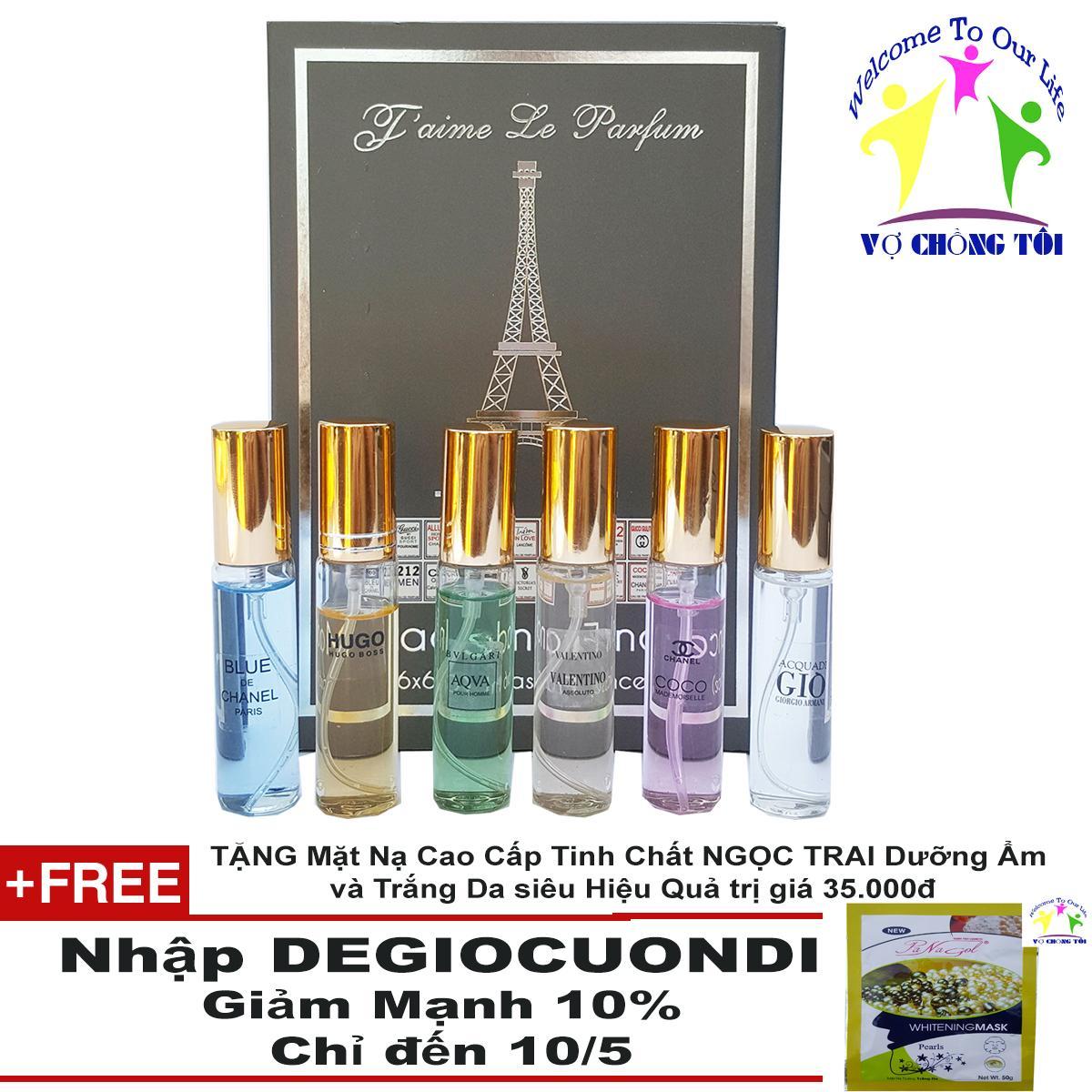 Mua Bộ Nước Hoa Unisex Jaime Le Parfum 6 Mui Nước Phap Cao Cấp Nhập Khẩu Cực Tươi Độc Lạ Gia Cực Rẻ Trực Tuyến Rẻ