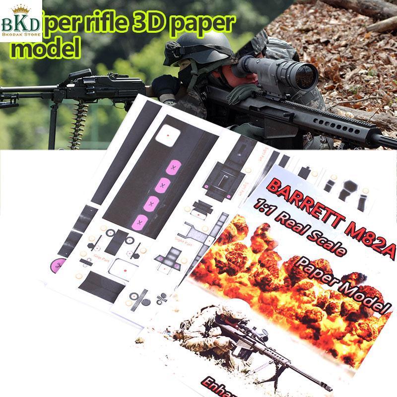 Hình ảnh Bkodak Store DIY 3D Toy DIY Paper Model DIY 3D Puzzle 3D Paper Model Funny