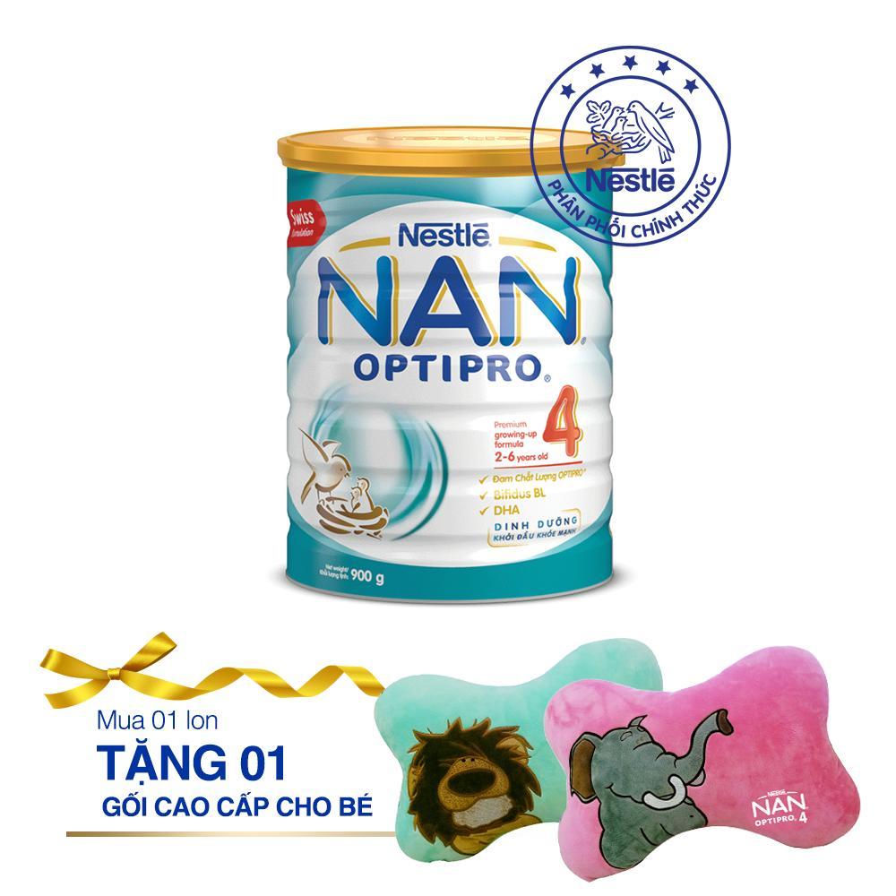 Giá Bán Sữa Bột Nestle Nan Optipro 4 900G Tặng 1 Gối Cho Be Cao Cấp Có Thương Hiệu
