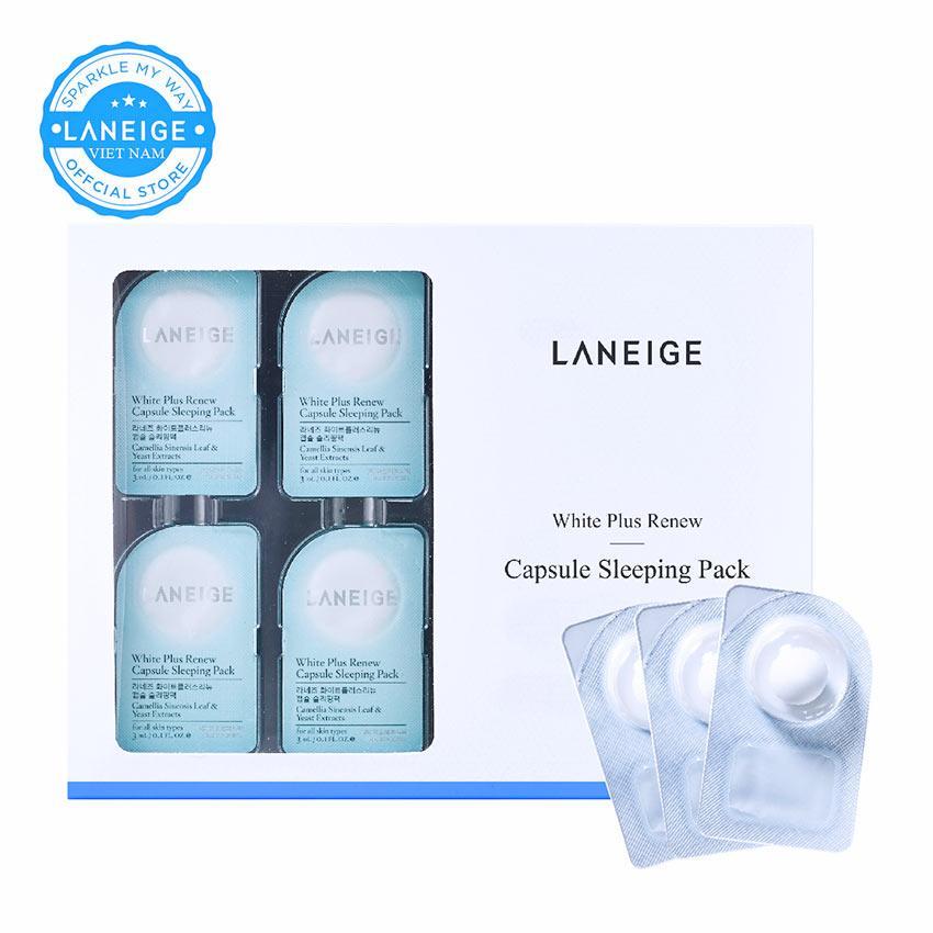 Bán Hot Deal Mặt Nạ Dưỡng Trắng Da Laneige White Plus Renew Capsule Sleeping Pack 48Ml Có Thương Hiệu Rẻ