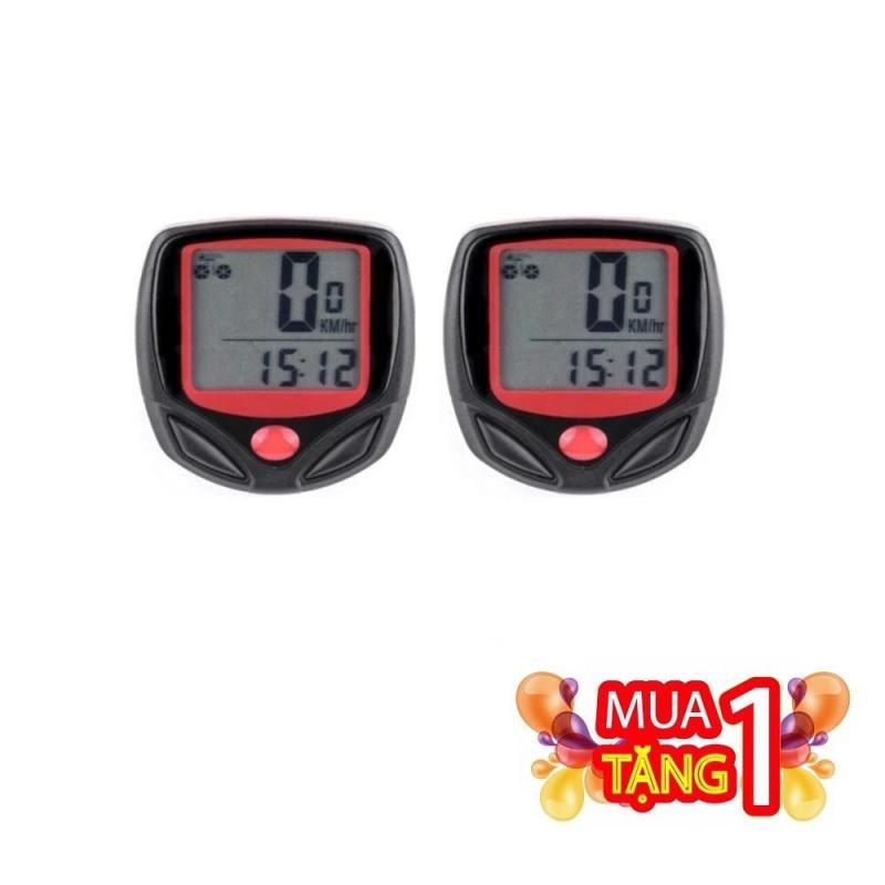 Mua Mua 1 Tặng 1 Đồng hồ đo tốc độ Xe đạp thể thao có dây ( Tiếng Anh ) - Bảo hành 3 tháng 1 đổi 1