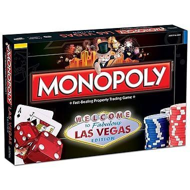 Hình ảnh Bộ cờ tỷ phú Monopoly phiên bản Las Vegas Edition
