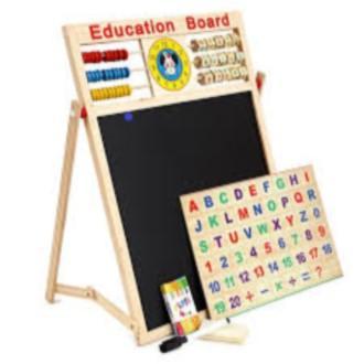 Hình ảnh Bảng ghép hình bằng gỗ gắn nam châm cho bé