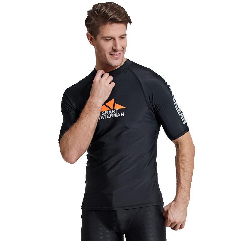 6d3f58270 Sbart Men Rash Guard Surfing Diving Shirt Swimwear Long Sleeve Snorkeling Surf  rashguard Tight Tops 763