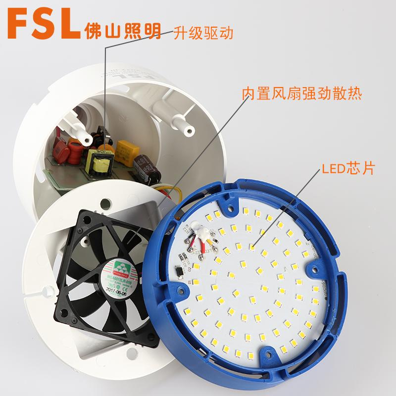 FSL High Power LED Light Bulb super bright Household Industry Mine Workshop White Light 80w Warm Light ENERGY-SAVING Lamps Lighting