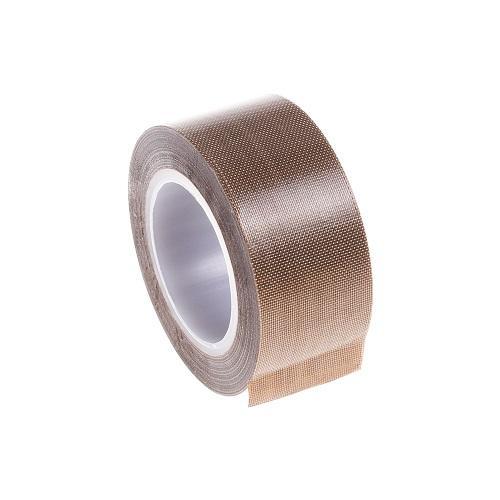 Lightning Power-25mm x 10m meter PTFE Teflon Adhesive Tape for Vacuum, Hand or Impulse Sealer(Brown)
