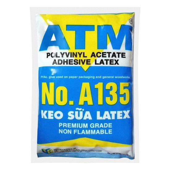 Hình ảnh Keo sữa ATM dán giấy, gỗ, 1kg/bịch