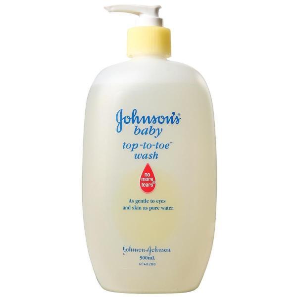 Sữa Tắm Gội Toàn Thân Johnsons Baby 500ml nhập khẩu
