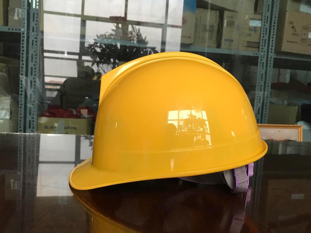 Mũ bảo hộ Hàn Quốc STOP màu vàng