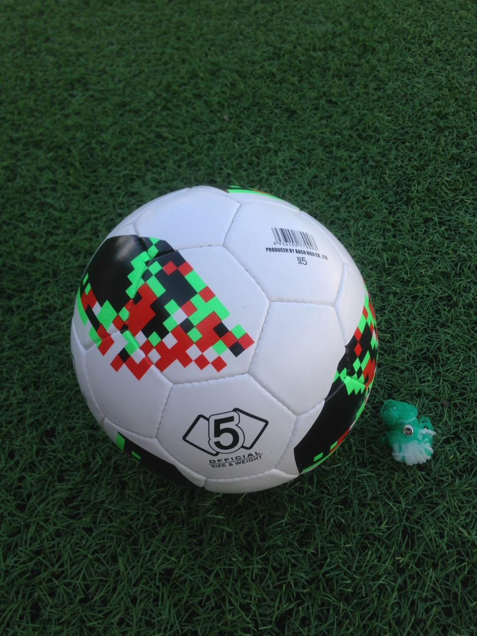 Hình ảnh BÓNG ĐÁ SỐ 5 WORLD CUP CAO CẤP (tặng túi lưới+kim bơm+đôi tất)