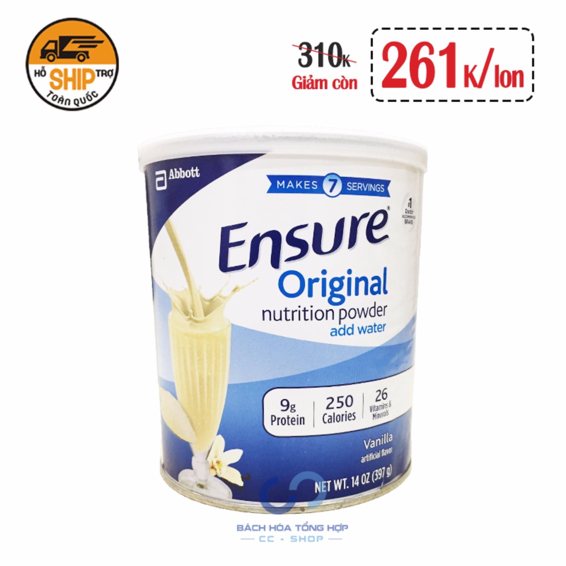 Hình ảnh Sữa Ensure Original Nutrition Powder (379g)