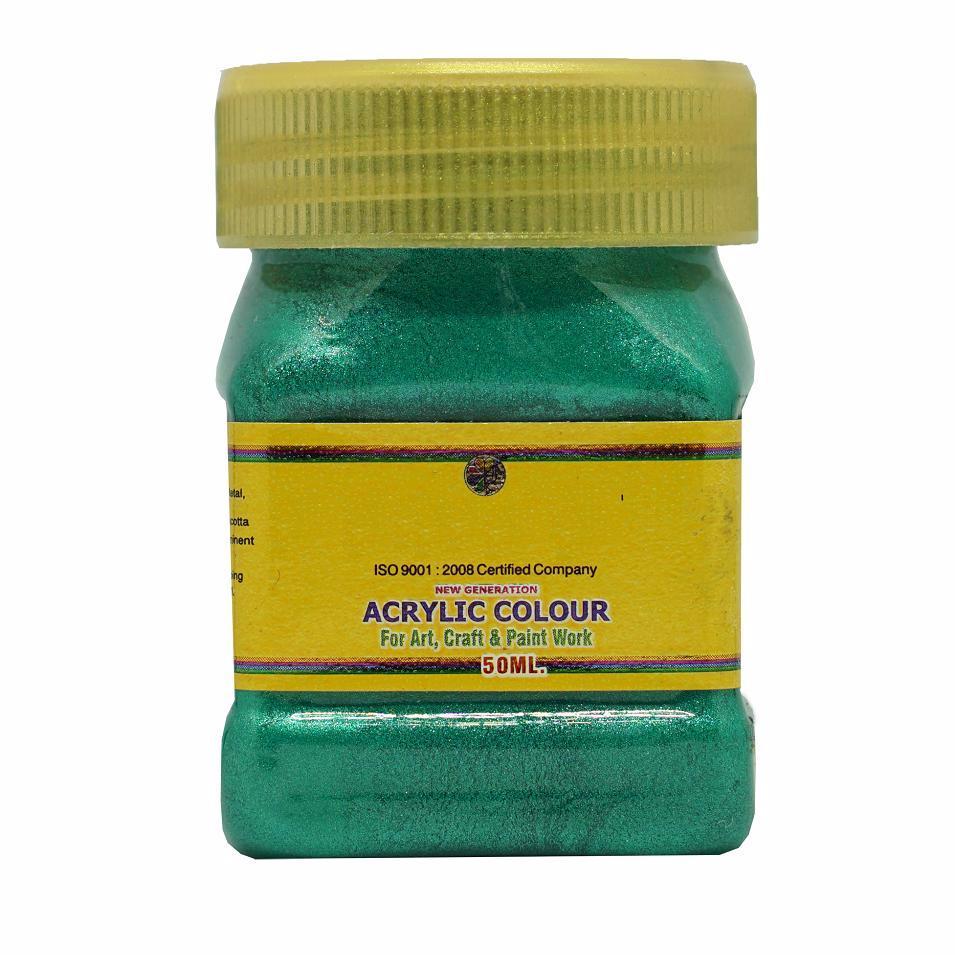 Mua Sơn Acrylic nhũ ánh kim Xanh Lá Thẫm 508 (hũ 50ml)