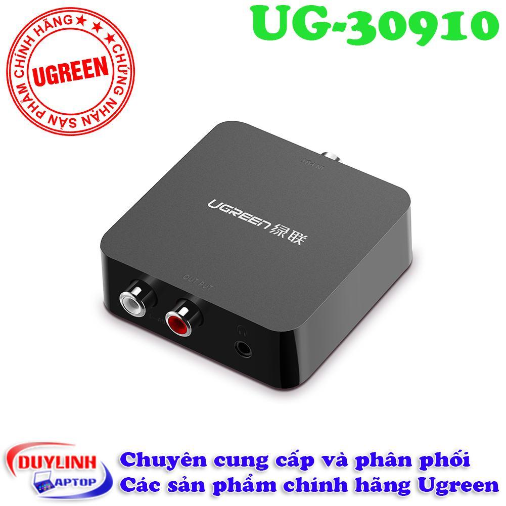 Giá Bán Bộ Chuyển Đổi Tin Hiệu Am Thanh Từ Audio Quang Sang Av Ugreen 30910