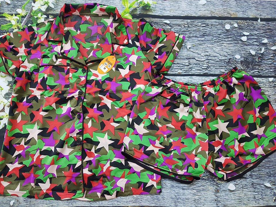 Pijama Satin Lụa Cao Cấp Size 55 65Kg Oem Chiết Khấu 30
