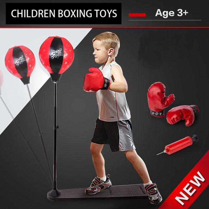 Hình ảnh DỤNG CỤ ĐẤM BỐC - BOXING CHO BÉ/ Children boxing toys