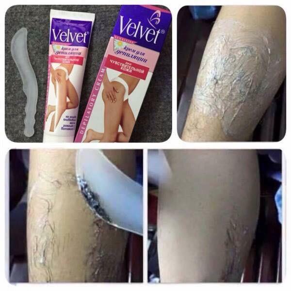 Kem tẩy lông Velvet - Triệt lông lâu dài