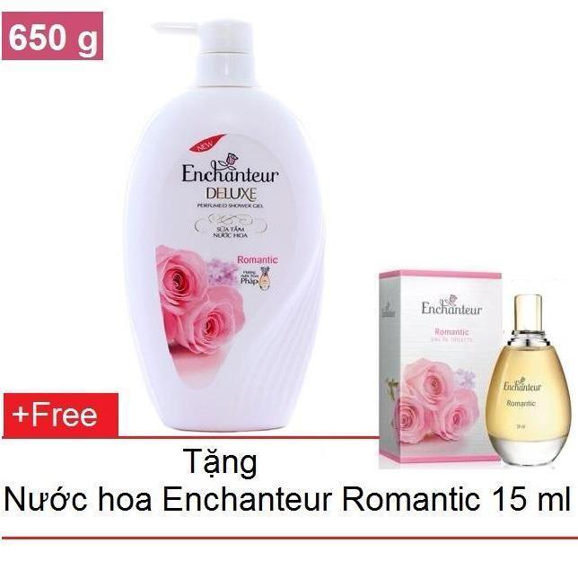 Bán Enchanteur Sữa Tắm Hương Nước Hoa 650 G Tặng Nước Hoa 15 Ml Romantic Người Bán Sỉ