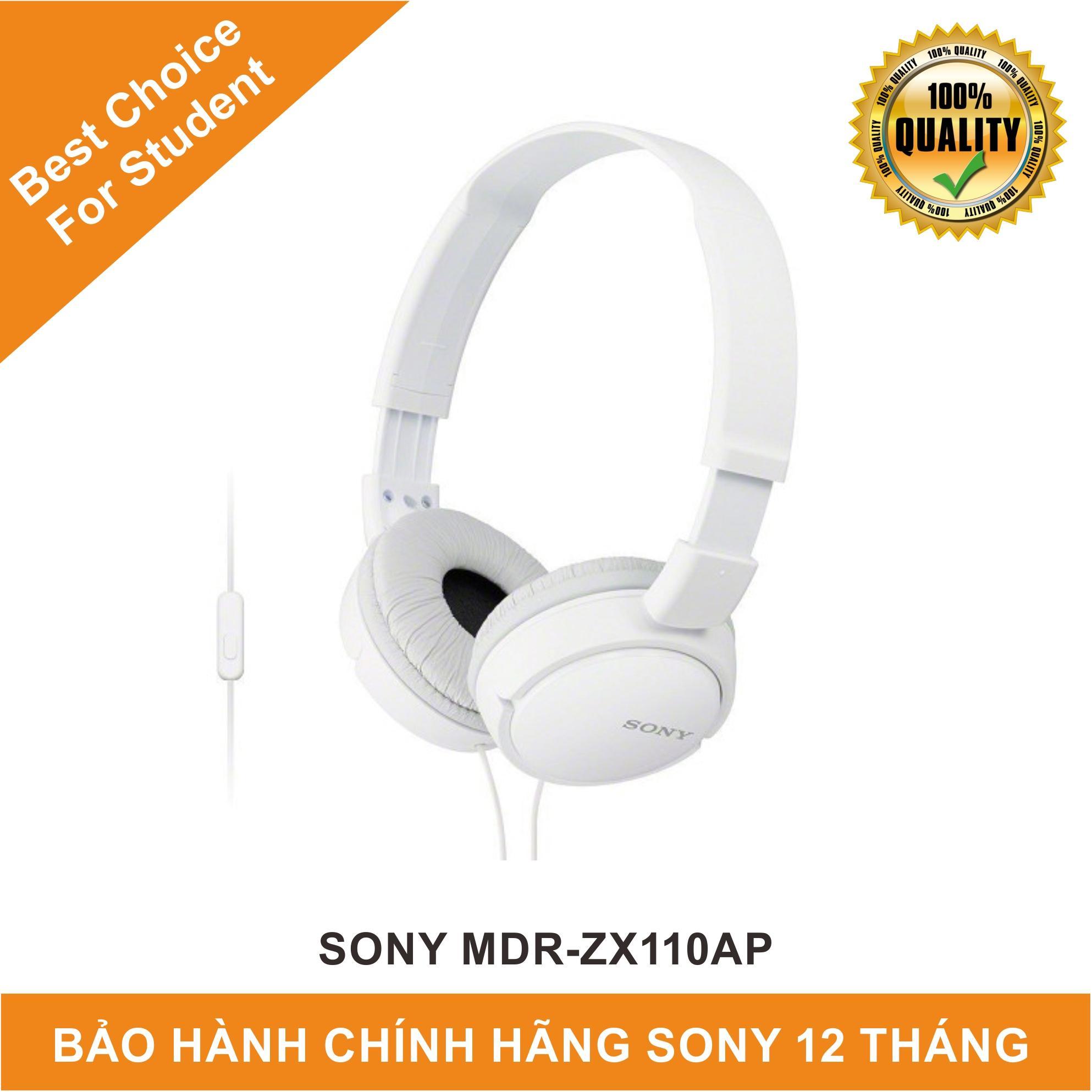 Giá Bán Tai Nghe Sony Mdr Zx110Ap Nguyên Sony