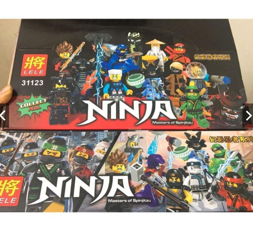 Hình ảnh Bộ Lego Quả Trứng Lắp Ghép Hình Ninja