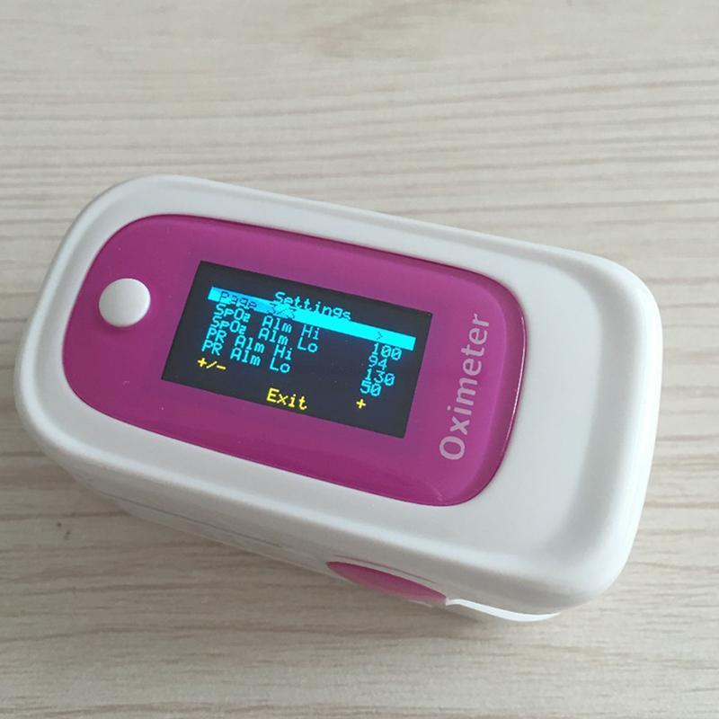 Máy SpO2 đo nồng độ Oxy Trong máu và nhịp tim YL170 (Hồng) bán chạy
