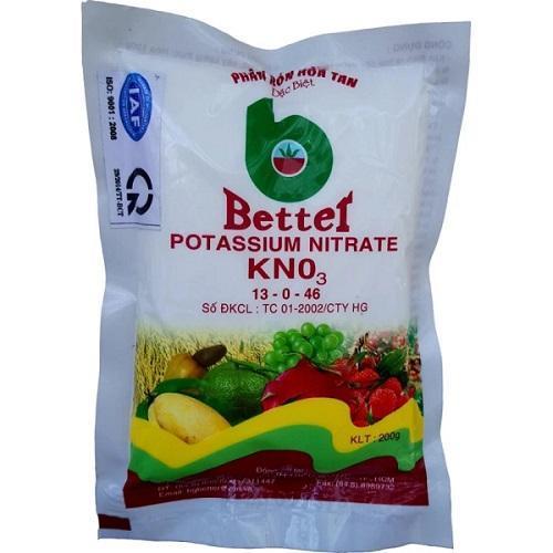 Hình ảnh Phân bón KNO3 tinh khiết kích thích ra hoa, tăng khả năng đậu trái Better 200gr.