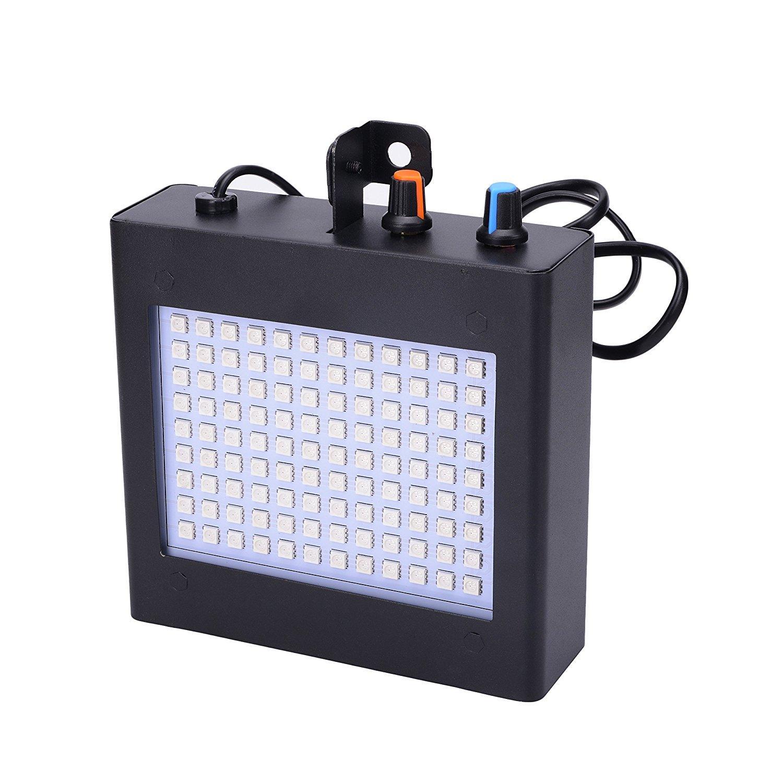 Đèn sân khấu 108 led cảm ứng nhạc (ánh sáng trắng)