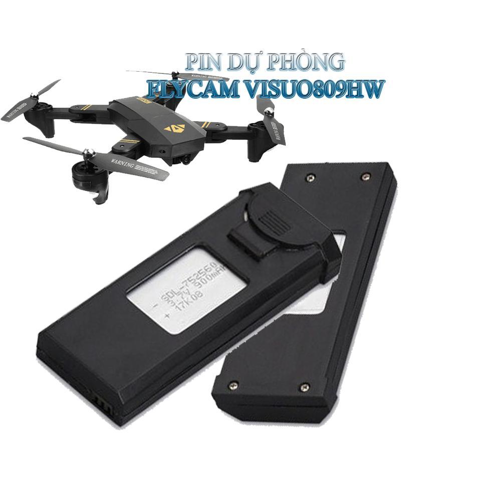 Hình ảnh Pin thay thế FLYCAM Visuo XS809 / XS809HW 3.7v 900mAh
