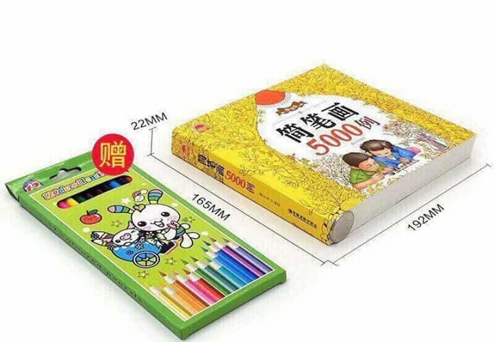 Mua Sách Tô Màu 5000 Chi Tiết Cho Bé