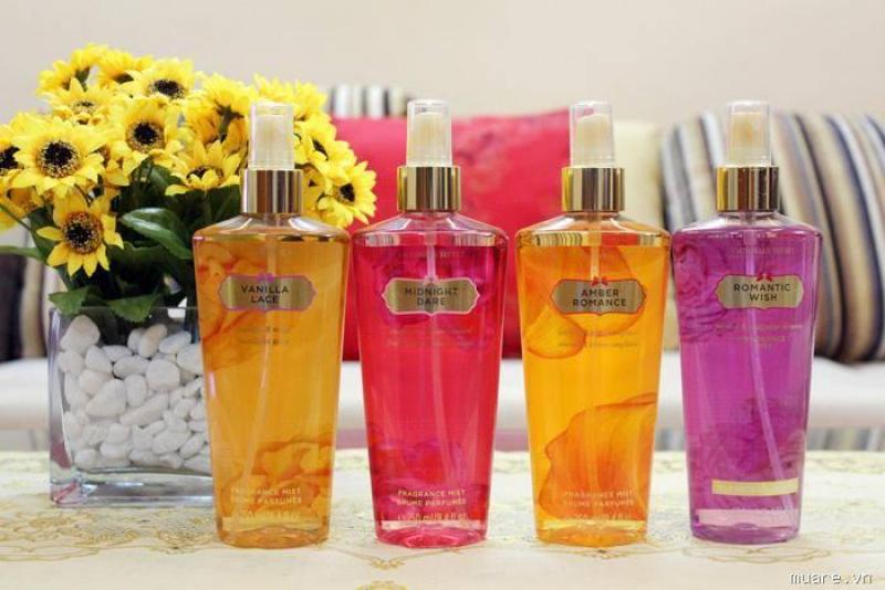 Nước hoa NỮ xịt thơm toàn thân Victoria Secret