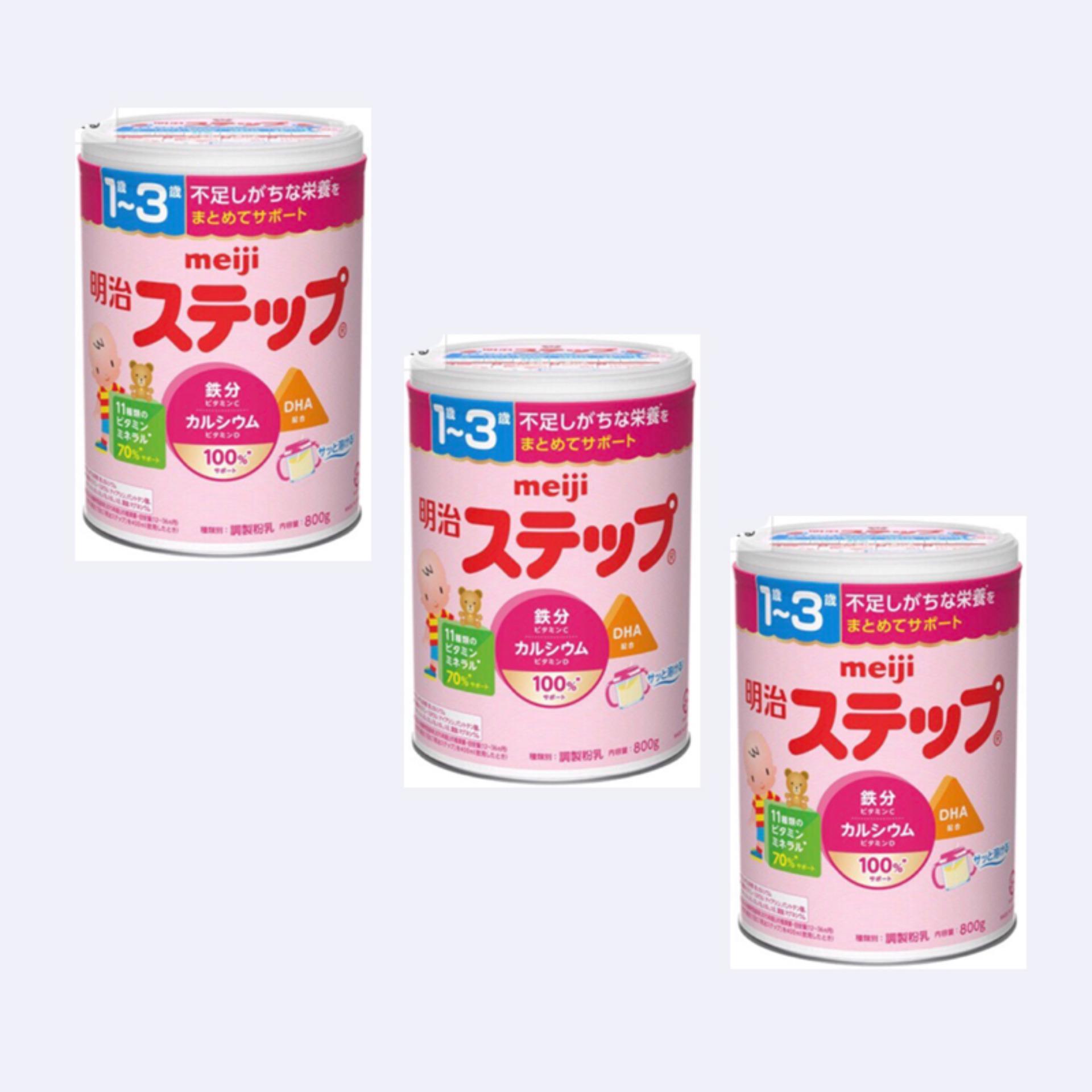 Bán Bộ 3 Hộp Sữa Meiji Só 9 820G Rẻ