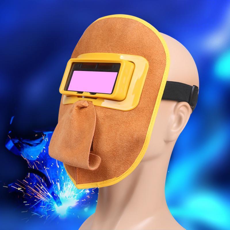 Kính hàn tự động mặt nạ da 2018