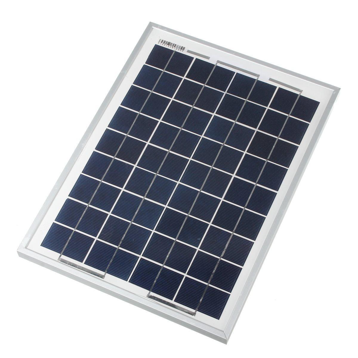 Hình ảnh Pin năng lượng mặt trời loại Poly 10W