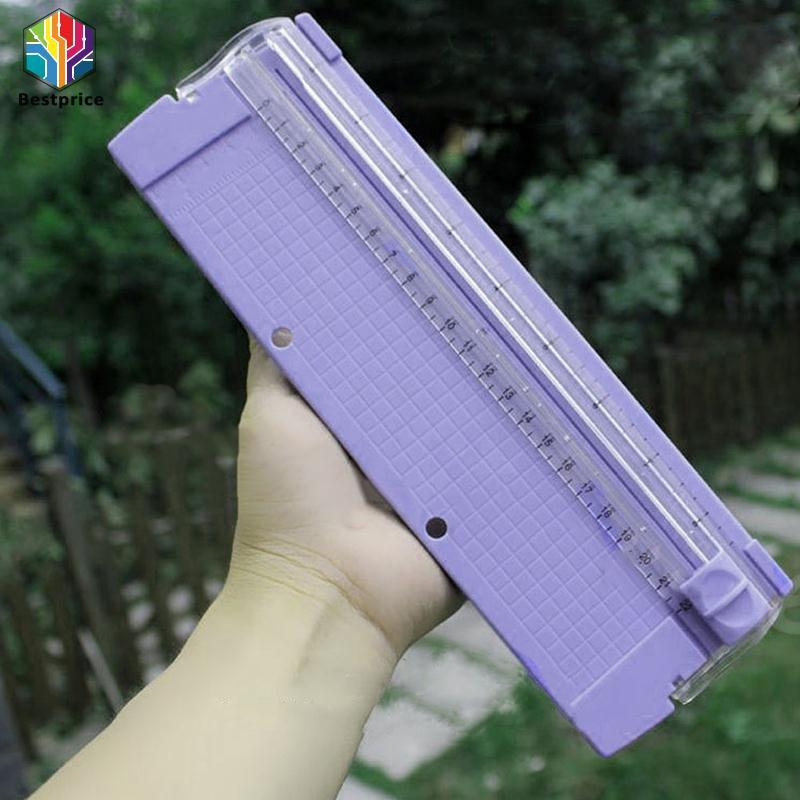 Hình ảnh A4 Paper Card Trimmer Ruler Photo Cutting Blade Cutter Guillotine Arts Office*