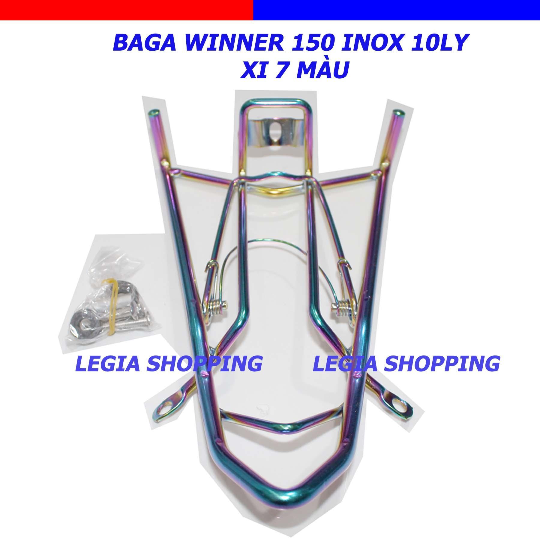 Giá Bán Baga Inox Xi 7 Mau Day 10 Ly Honda Winner 150 Nguyên No