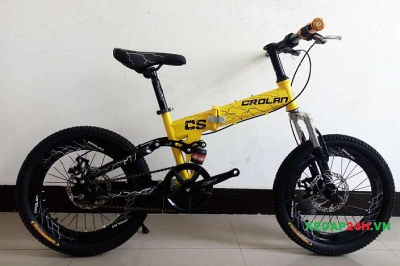 Phân phối xe đạp thể thao gấp CROLAN CS18 18″