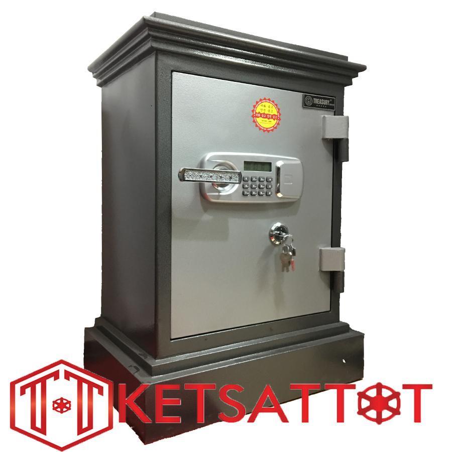 Két sắt chống cháy cao cấp Treasury Bank TB680 cánh đúc (khóa điện tử )
