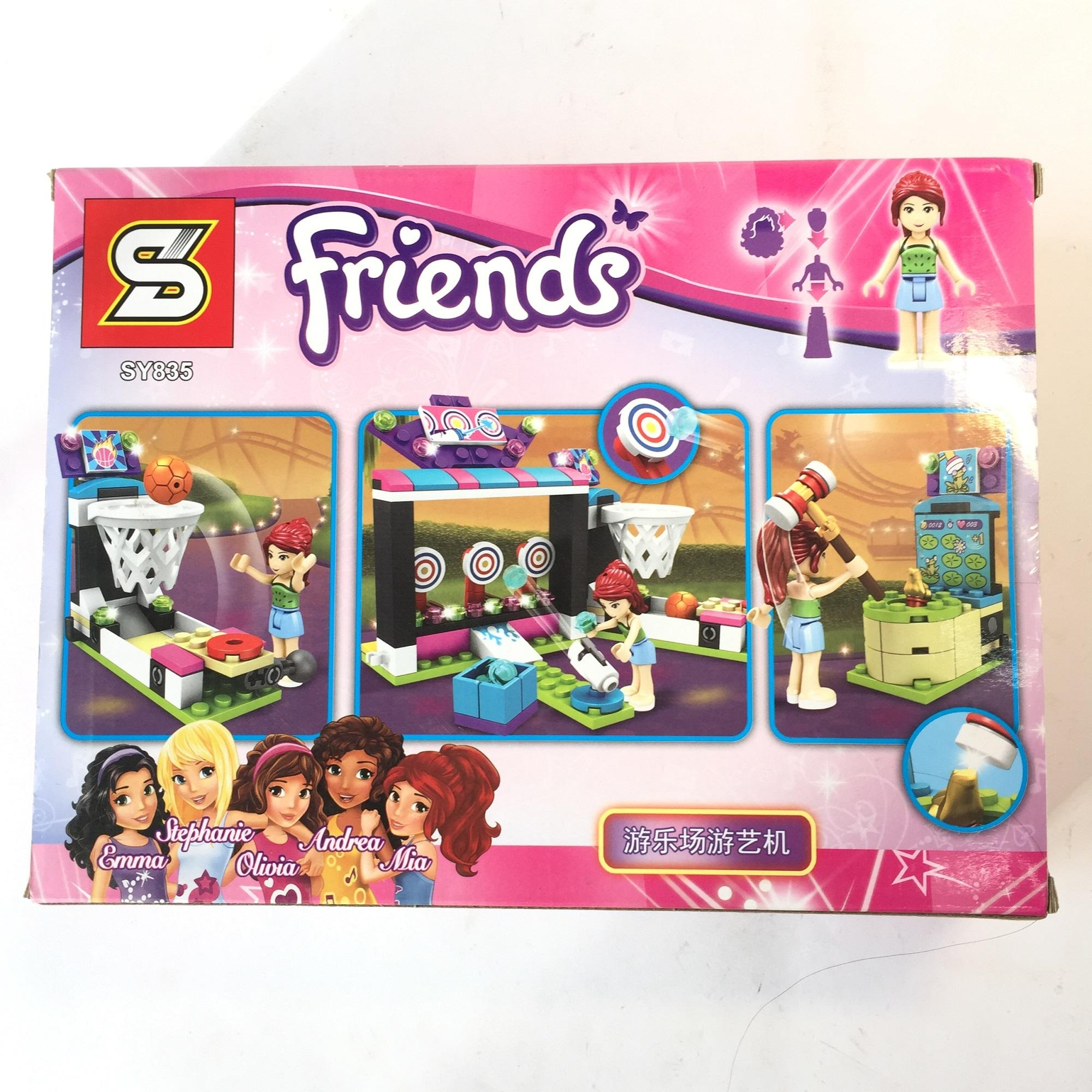 Bộ lego xếp hình ngôi nhà Friends No.SY835 187+ miếng