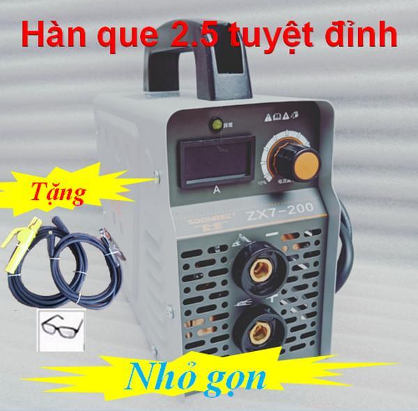 Hình ảnh Máy hàn điện tử Soonee 200a may han may han que dien tu
