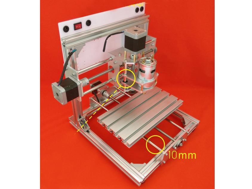 Hình ảnh Máy phay khắc CNC khổ 13 x 10 cm