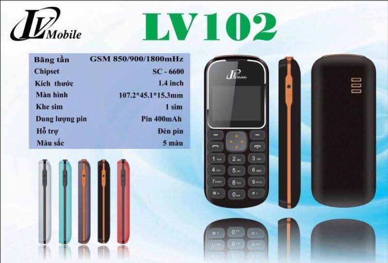 LV mobile 102 (giống nokia 1280)