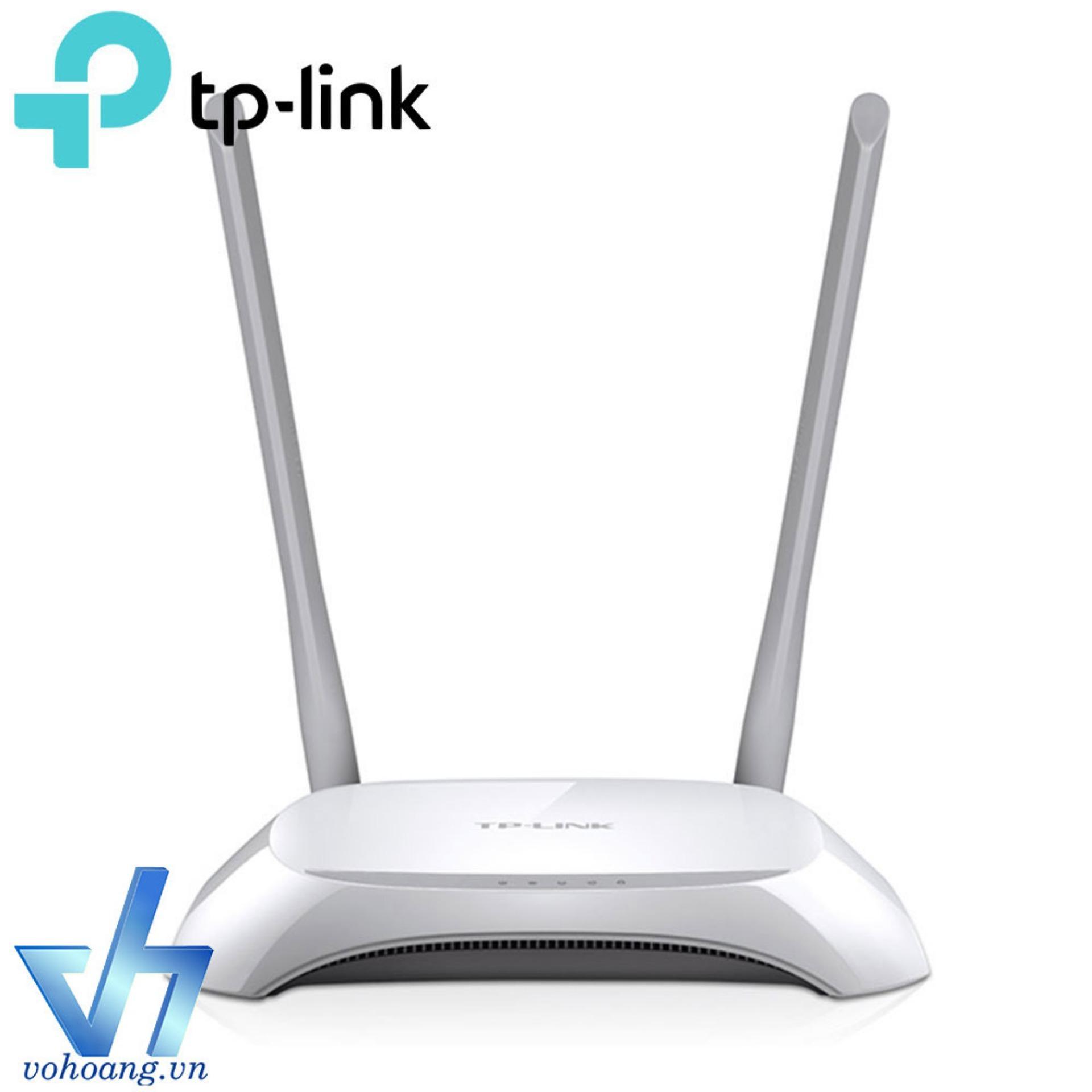 Mua Router Tp Link Online Gi Tt Tl Wr 840n Wireless Tplink 300mbps Wr840n Wi Fi Chun N
