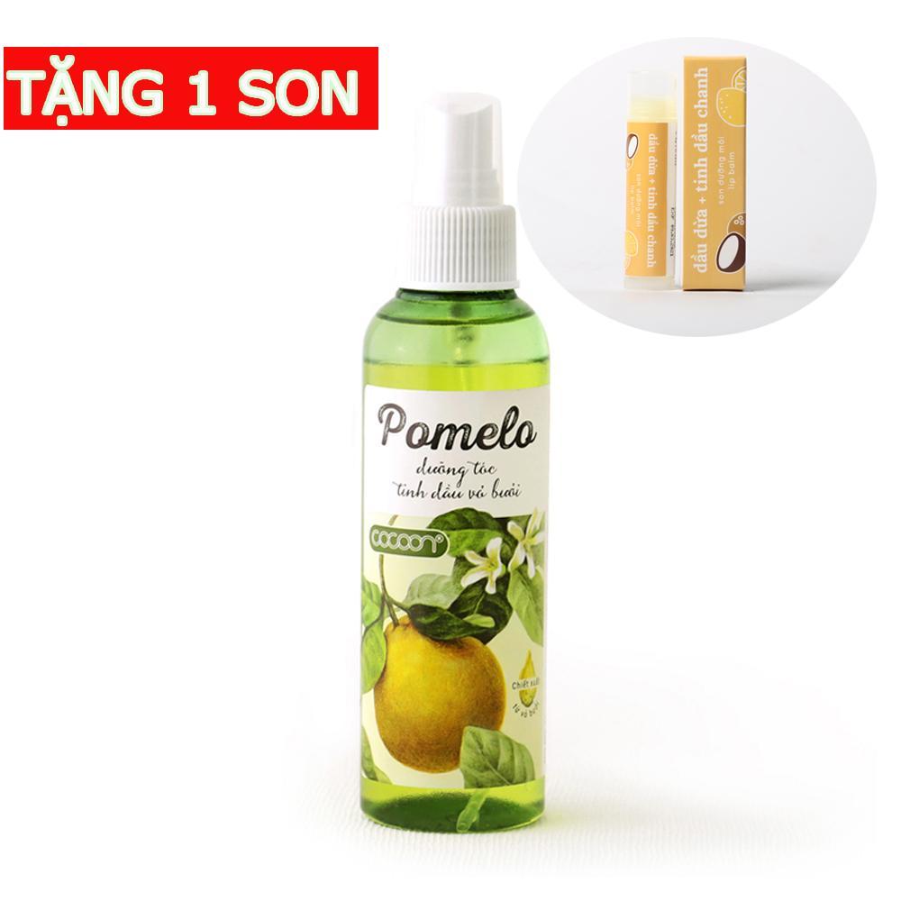 Hình ảnh Pomelo tinh dầu bưởi mọc tóc tặng 1 son dưỡng môi Lip Balm