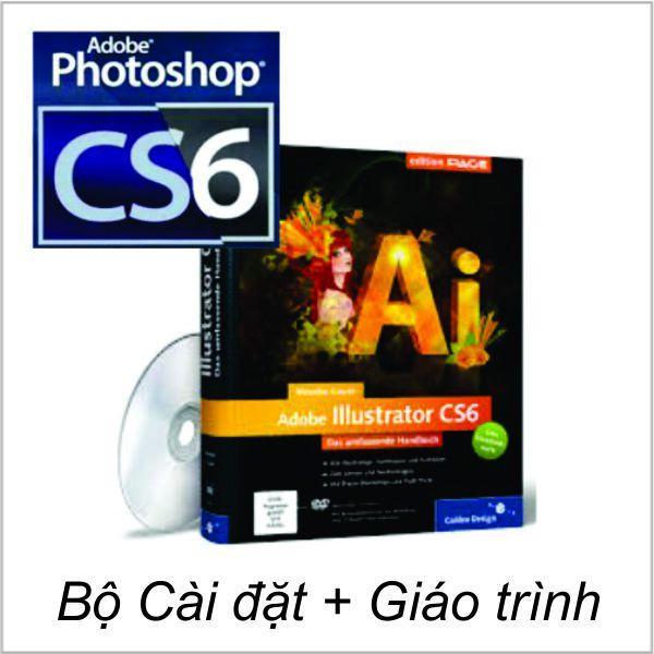 Hình ảnh Bộ DVD Photoshop _ Illustrator CS6_ Giáo Trình