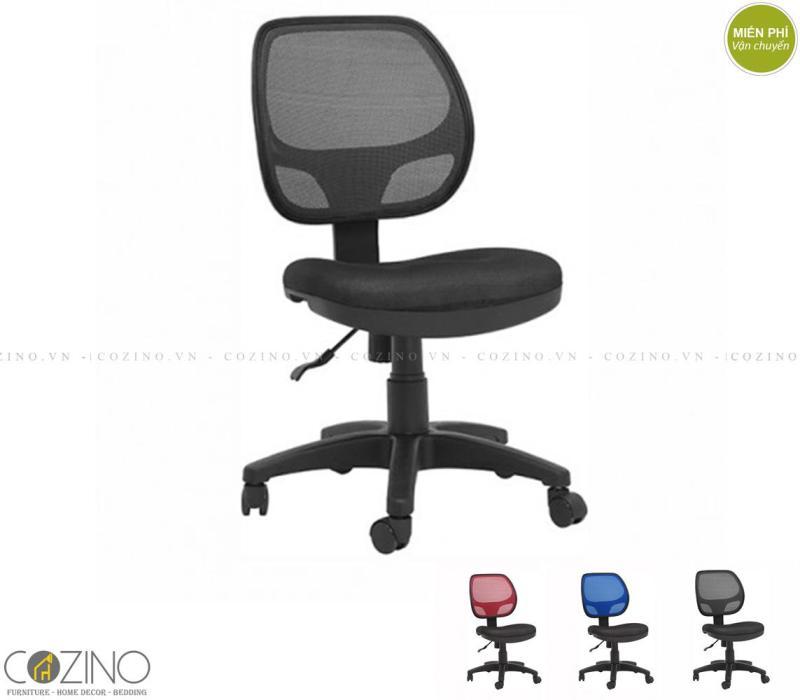 Ghế lưới CZN501A không tay màu đen giá rẻ