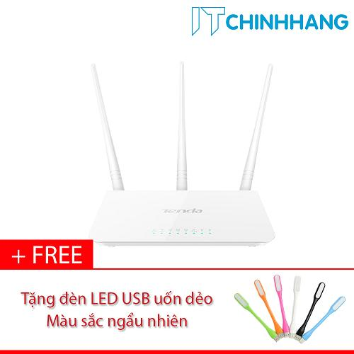 Giá Bán Bộ Phat Song Wifi Tenda F3 Tặng Đen Led Usb Hang Phan Phối Chinh Thức Mới Rẻ