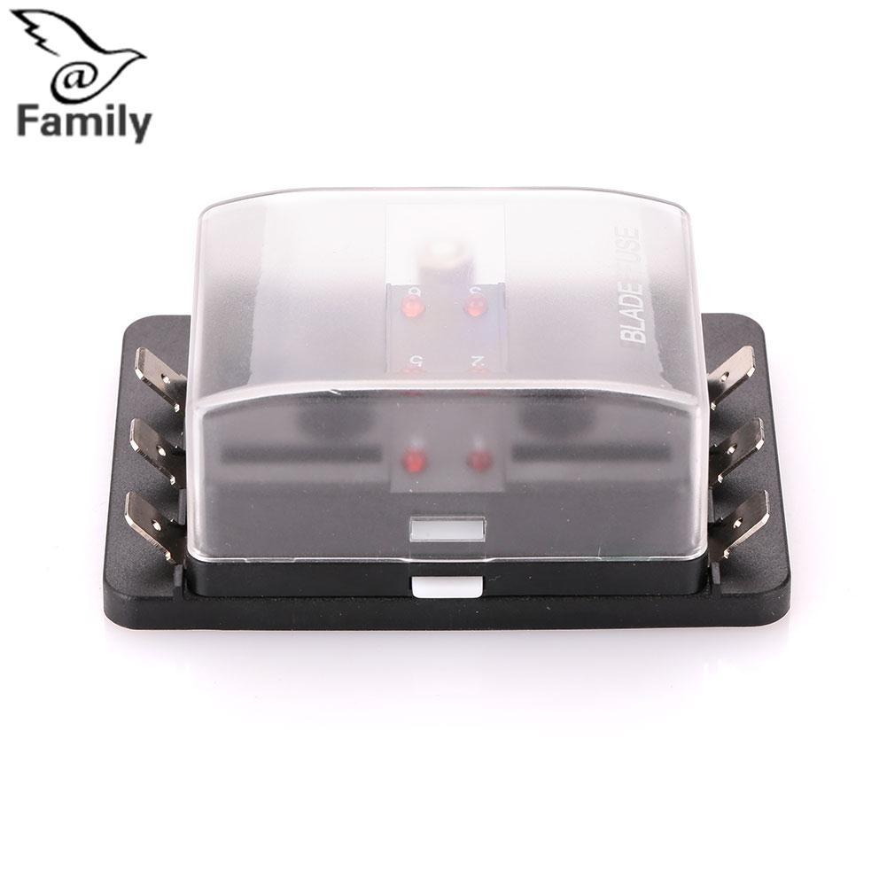 Big Family: Professional Lighting Accessories Car Vehicle Auto Internal  Circuits Fuse Box Case Holder Block