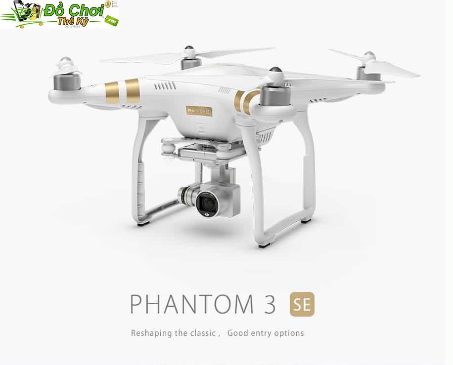 Hình ảnh Flycam Phantom 3 SE- Chụp ảnh và quay video 4K